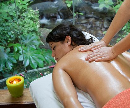 Un massage au Costa Rica