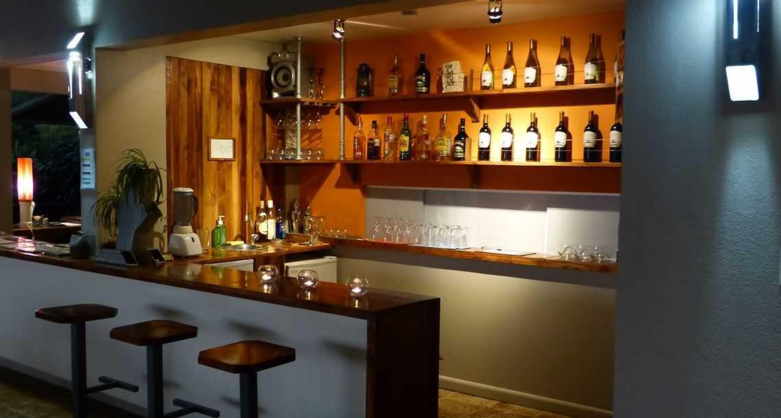 Bar pour les visiteurs