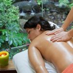 A massage in Costa Rica