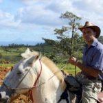 Homme sur cheval