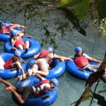 Tubing on the Celeste River